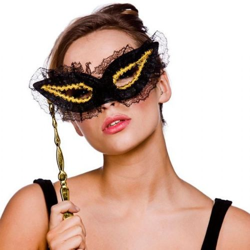 Lace Eyemask for Masquerade Ball Eye-Mask Eye Mask Fancy Dress